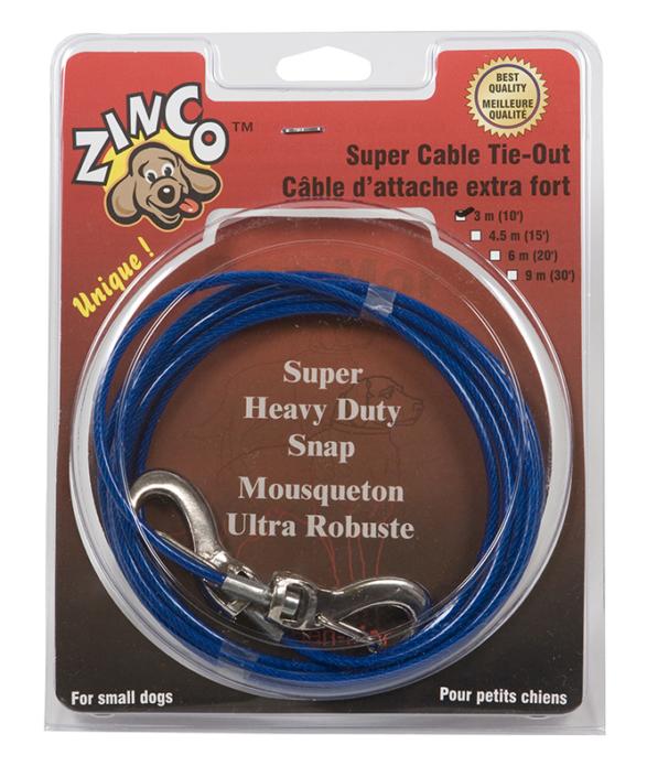 Câble d'attache – petit chien