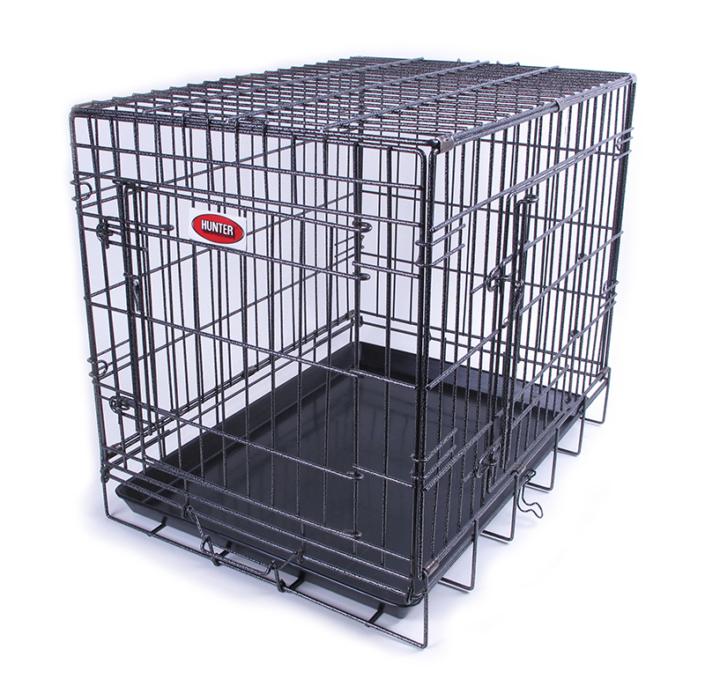 Cages pliantes hunter deux portes