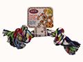 Corde de coton – colorée, 2 noeuds